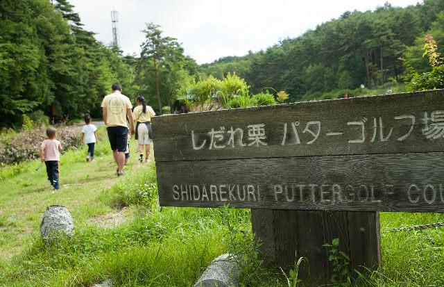 しだれ栗森林公園 ゴルフコース