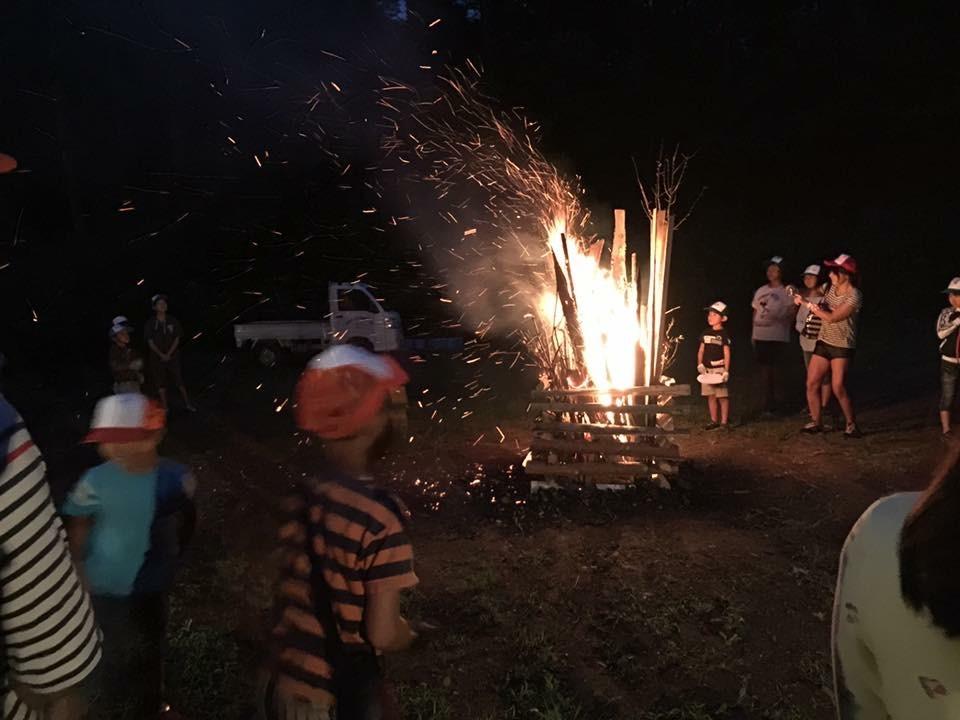 しだれ栗森林公園2018年SAふれあいサマーキャンプ