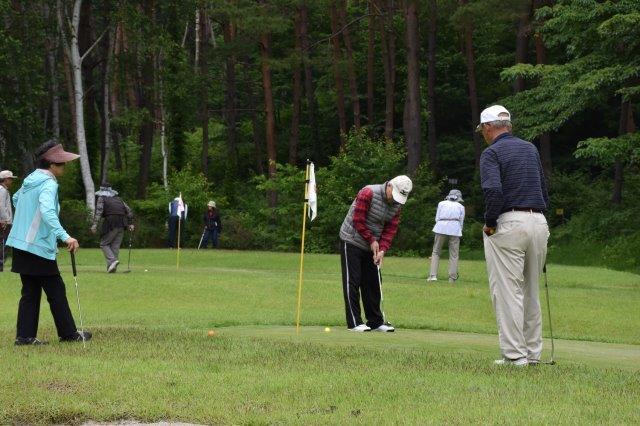 しだれ栗森林公園パターゴルフ協会主催「6月例会」